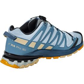 Salomon XA Pro 3D v8 GTX Shoes Women, kentucky blue/dark denim/pale khaki